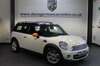USED 2013 13 MINI CLUBMAN 1.6 COOPER D CHILI PACK 5DR 112 BHP + FULL BLACK LEATHER INTERIOR + FULL BMW SERVICE HISTORY + 1 OWNER FROM NEW + SATELLITE NAVIGATION + BLUETOOTH + SPORT SEATS + DAB RADIO + PARKING SENSORS + 16 INCH ALLOY WHEELS +
