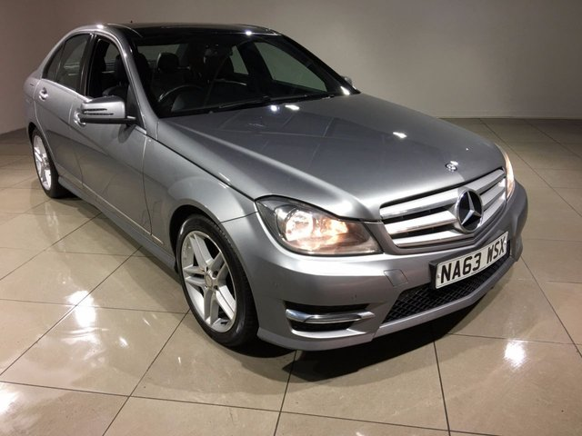 View our 2013 63 MERCEDES-BENZ C CLASS 2.1 C220 CDI BLUEEFFICIENCY AMG SPORT 4d 168 BHP