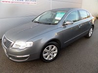 2007 VOLKSWAGEN PASSAT 2.0 TDI SE 4d 138 BHP 16 SPEED MANUAL MOT TILL DEC 2017 £3495.00