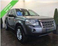 USED 2008 08 LAND ROVER FREELANDER 2.2 TD4 SE 5d AUTO 159 BHP SERVICE HISTORY+SAT NAV+LEATHER+PANROOF+HSE SPEC