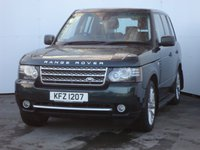 USED 2012 12 LAND ROVER RANGE ROVER 4.4 TDV8 WESTMINSTER 5d AUTO 313 BHP  LTD EDITION WESTMINSTER, WITH MASSIVE SPEC IN ARABA LEATHER PIPED IVORY AND SPECIAL ORDER PAINTWORK