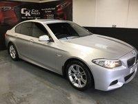 2011 BMW 5 SERIES 0.2 520D M SPORT 4d AUTO 181 BHP £12300.00