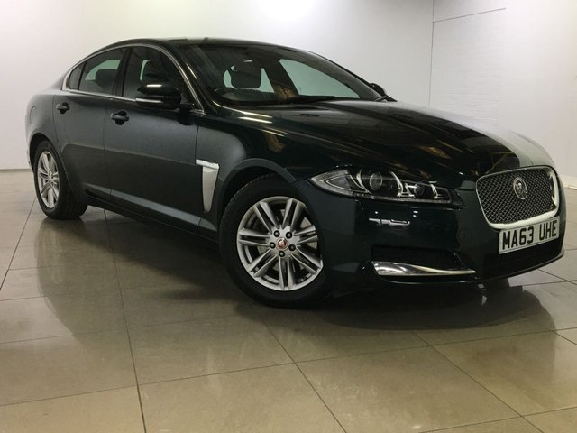 View our 2013 63 JAGUAR XF 2.2 D PORTFOLIO 4d AUTO 163 BHP