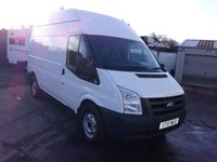 USED 2010 10 FORD TRANSIT 2.4 350 H/R 1d 100 BHP