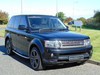 USED 2011 61 LAND ROVER RANGE ROVER SPORT 3.0 TDV6 HSE 5d AUTO 245 BHP IVORY LEATHER, SAT NAV, TV