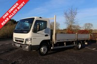 USED 2006 56 MITSUBISHI CANTER 3.9 75 DAY 1d 136 BHP One Owner From New, Alloy Dropside.