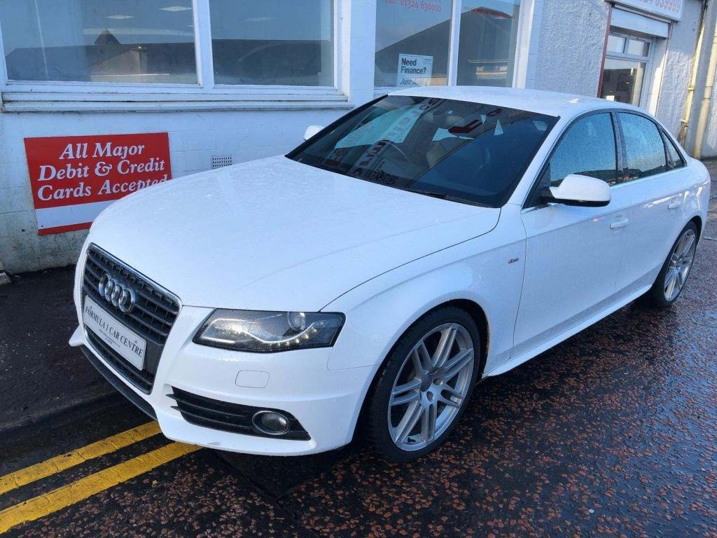 USED 2010 60 AUDI A4 2.0 TDI S line Special Edition 4dr S-LINE,HALF  LEATHER,ALLOYS