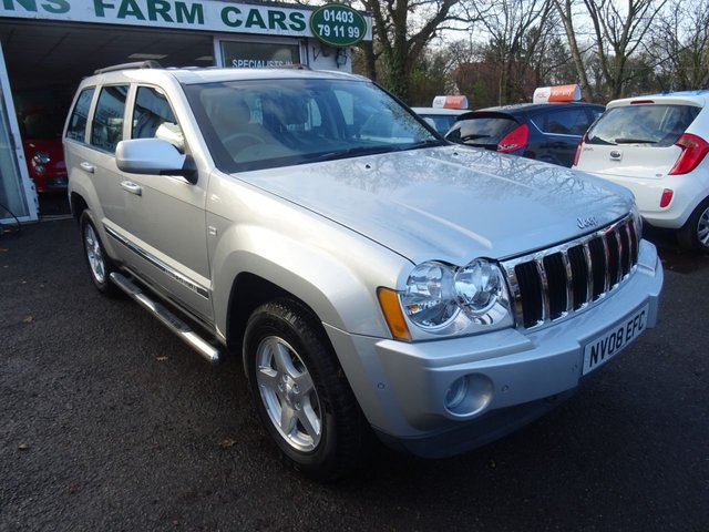 2008 08 JEEP GRAND CHEROKEE 3.0 V6 CRD LIMITED 5d AUTO 215 BHP