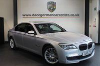 USED 2010 10 BMW 7 SERIES 3.0 740D M SPORT 4DR AUTO 302 BHP FULL BLACK LEATHER INTERIOR + FULL SERVICE HISTORY + PRO SATELLITE NAVIGATION + HEATED ELECTRIC SEATS + BLUETOOTH + PANORAMIC SUNROOF + SOFT CLOSING DOORS + CRUISE CONTROL + REVERSE CAMERA + M SPORT PACKAGE + PARKING SENSORS + 19 INCH ALLOY WHEELS +
