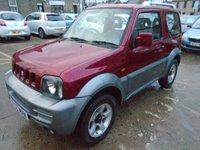 2007 SUZUKI JIMNY 1.3 JLX PLUS 3d 83 BHP £4750.00