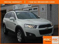 USED 2012 62 CHEVROLET CAPTIVA 2.2 LT VCDI 5d AUTO 184 BHP Low Mileage Automatic 7 Seater-Half Leather