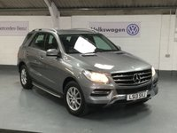 2013 MERCEDES-BENZ M CLASS 2.1 ML250 BLUETEC SE 5d AUTO 204 BHP £19995.00