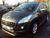 2011 PEUGEOT 3008 2.0 HDI EXCLUSIVE 5d 150BHP £5990.00