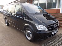USED 2012 12 MERCEDES-BENZ VITO 113 CDI LWB 9 SEATER TRAVELINER AUTOMATIC, 136 BHP [EURO 5], AIR CONDITIONING, HEATED REAR WINDSCREEN, LOW MILES, FULL DEALER SERVICE HISTORY, DIRECT FROM MERCEDES BENZ