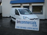 2013 CITROEN BERLINGO 1.6 625 ENTERPRISE L1 HDI 1d 74 BHP £5895.00
