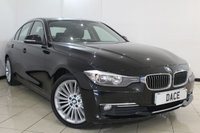 USED 2013 13 BMW 3 SERIES 2.0 320D LUXURY 4DR AUTOMATIC 184 BHP BMW SERVICE HISTORY + CLIMATE CONTROL + SAT NAVIGATION + CRUISE CONTROL + ALLOY WHEELS