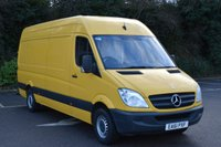 2011 MERCEDES-BENZ SPRINTER 2.1 313 CDI  5d 129 BHP LWB HIGH ROOF DIESEL MANUAL VAN  £5990.00