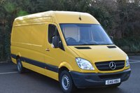 2011 MERCEDES-BENZ SPRINTER 2.1 313 CDI  5d 129 BHP LWB HIGH ROOF DIESEL MANUAL VAN  £7990.00
