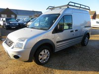 2012 FORD TRANSIT CONNECT 1.8 TDCi T230 TREND LWB HI ROOF 90 BHP SILVER 64229 MILES £6495.00