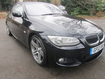 2012 BMW 3 SERIES 3.0 335I M SPORT 2d AUTO 302 BHP £SOLD