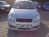 """USED 2009 09 CHEVROLET AVEO 1.2 S 5d 83 BHP """"The Aveo is a surprisingly competent B-segment challenger"""""""