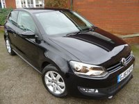 2013 VOLKSWAGEN POLO 1.4 MATCH EDITION 3d 83 BHP Extra Spec Car £7265.00