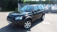 USED 2005 05 LAND ROVER FREELANDER 1.8 XEI STATION WAGON 5d 116 BHP Prop shaft has been removed - 4X2 Transmission