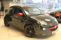 USED 2014 14 VAUXHALL ADAM 1.4 GLAM 3d 85 BHP HALF LEATHER SEATS + FULL VAUXHALL SERVICE HISTORY + TECHNICAL PACKAGE + STYLE PACKAGE + UPGRADED EXHAUST + PARKING SENSORS + BLUETOOTH + DAB RADIO