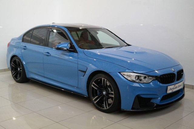 2016 BMW M3 3.0 M3 4d AUTO 426 BHP