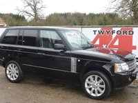 2007 LAND ROVER RANGE ROVER 3.6 TDV8 VOGUE SE 5d AUTO 272 BHP £14995.00