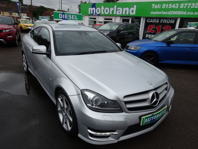 USED 2011 61 MERCEDES-BENZ C CLASS 2.1 C220 CDI BLUEEFFICIENCY AMG SPORT ED125 2d AUTO 170 BHP **JUST ARRIVED **BUY NOW PAY NEXT YEAR**SAT NAV**
