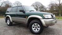 2001 NISSAN PATROL 3.0 D Auto £5000.00