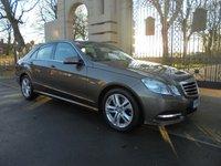 2011 MERCEDES-BENZ E CLASS 2.1 E250 CDI BLUEEFFICIENCY AVANTGARDE ED125 4d AUTO 204 BHP £13495.00