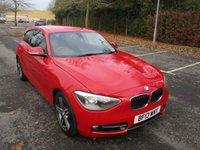 2013 BMW 1 SERIES 1.6 116I SPORT 3d 135 BHP £10995.00