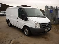 2011 FORD TRANSIT 2.2TDCi 260 SWB Low Roof  £6495.00