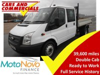 2014 FORD TRANSIT Tipper Double Cab 350 LWB 1-Way 125ps (CPD Body) £11995.00