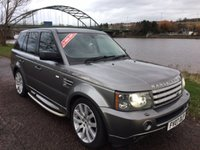 USED 2007 07 LAND ROVER RANGE ROVER SPORT 3.6 TDV8 SPORT HSE 5d 269 BHP **ALL COLOUR CODED**