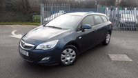 USED 2012 12 VAUXHALL ASTRA 1.7 EXCLUSIV CDTI ECOFLEX 5d 108 BHP Full Service History