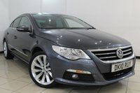 USED 2010 10 VOLKSWAGEN CC 2.0 CC GT TDI 4DR 170 BHP CLIMATE CONTROL + CRUISE CONTROL + MULTI FUNCTION WHEEL + 6 SPEED + ALLOY WHEELS