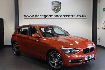 2014 BMW 1 SERIES 1.6 116I SPORT 5DR 135 BHP £12970.00