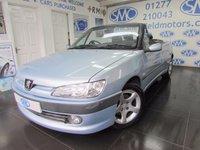 2001 PEUGEOT 306 1.6 SE 2d 101 BHP £2000.00