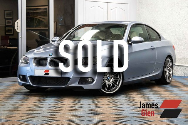 USED 2009 58 BMW 3 SERIES 3.0 330D M SPORT 2d AUTO 242 BHP Demo + 1 Owner. Full BMW Service History