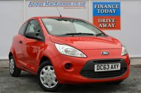 USED 2014 63 FORD KA 1.2 STUDIO 3d 69 BHP IDEAL FIRST CAR