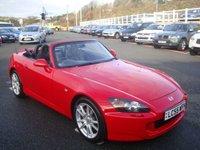 2005 HONDA S 2000 ROADSTER 2.0 236 BHP £8750.00