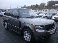 USED 2009 59 LAND ROVER RANGE ROVER 3.6 TDV8 VOGUE 5d AUTO 271 BHP Black roof, facelift 2010 model with high specification