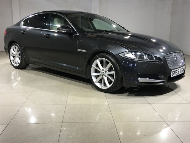 View our 2013 63 JAGUAR XF 2.2 D PREMIUM LUXURY 4d AUTO 200 BHP
