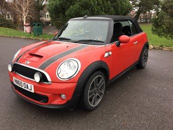 2011 MINI CONVERTIBLE 1.6 COOPER S 2d 184 BHP £8450.00