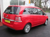 USED 2013 14 VAUXHALL ZAFIRA 1.7 DESIGN NAV CDTI ECOFLEX 5d 108 BHP DIESEL ZAFIRA WITH GREAT MPG