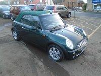 2005 MINI CONVERTIBLE 1.6 COOPER 2d AUTO 114 BHP £SOLD