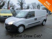 2014 VAUXHALL COMBO VAN *Crew Cab 5 Seater* 1.6 2300 LWB CDTI S/S 105 BHP £7495.00